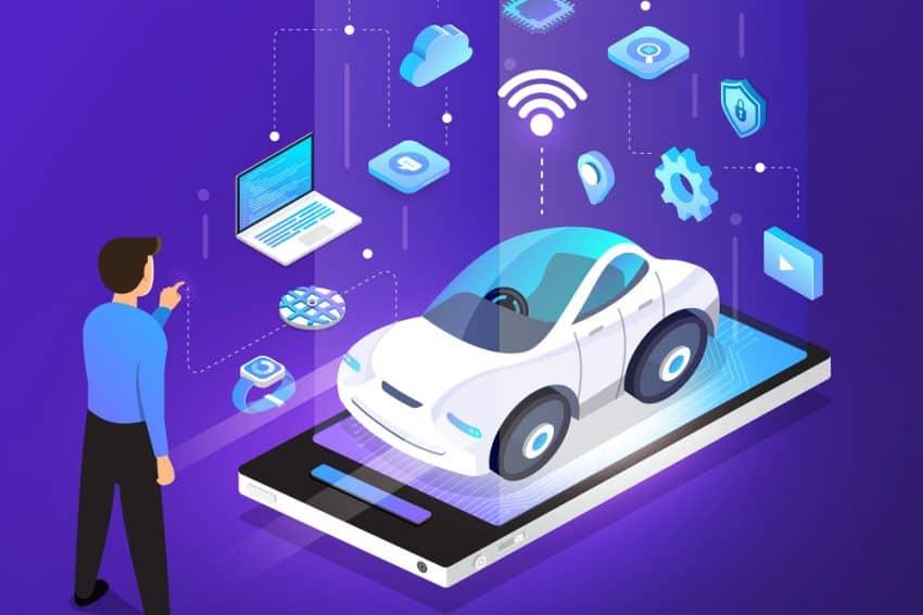 Sensores de automóvil autónomos, tecnología de vehículos sin conductor