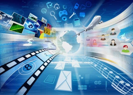 Internet Uso compartido de computadoras y multimedia