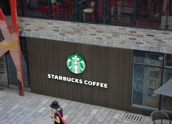 Starbucks modelo de una acción de Blue Chip moderna
